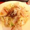 沖縄名物 豚足専門店 豚三郎 - 料理写真:カラソバ ねぎ塩たれ