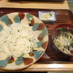 沖縄料理 ふる里 - ソーメンチャンプル