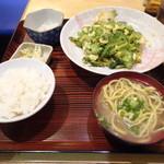 沖縄料理 ふる里 - ゴーヤチャンプル定食