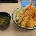 揚げたて天ぷらさくや - 料理写真:天丼