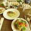 ファインダイニング - 料理写真:ホワイトオムレツとサラダ