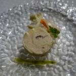 レストランパフューム - 地鶏のバロティーヌ