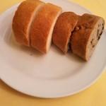 93706930 - パンは2種(*´>ω<`*)