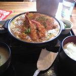 とん葛 - ミックス鍋定食