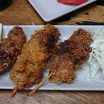 タカマル鮮魚店 - 鮪串カツ
