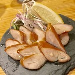 焼とり いぶし坐 - 燻製鶏ハム!