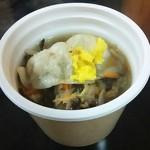 セブンイレブン - 料理写真:もちっ餃子と野菜の中華スープ