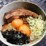 麺屋 春爛漫 - まかない 台湾(980円)