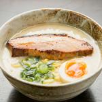 麺屋 春爛漫 - こってり 海老鶏白湯(980円)