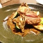 マルヤママッシュルーム - 鴨肉とフォアグラ