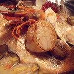 美食好房 かくれ庵 - 魚介たっぷりアクアパッツァ