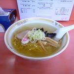 天味 - 料理写真:塩ラーメン(600円)