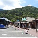 道の駅 天城越え - 広い駐車場 ショップもあります