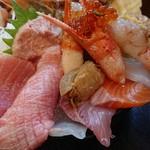 野口鮮魚店 - 中トロ?はお寿司でした!