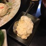 とんかつ かつ壱 - エビフライ定食1,350円のタルタルソース