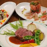 なんぷてい - 宿泊プランは「エゾシカのローストなど旬のディナー」コースなどあります。