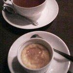 9373496 - 自家製プリン&紅茶