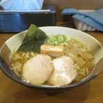 煮干らぁめん なかじま - 塩らぁめん(680円)