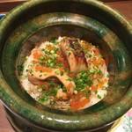 日本料理 潤花 - 料理写真:鮭とイクラの土鍋炊きご飯