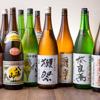 獺祭・八海山・銘柄日本酒、銘柄焼酎プレミアム飲み放題コース