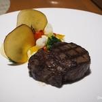 カフェ クベール - 国産牛フィレ肉のグリル
