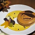 カフェ クベール - ハロウィンパンケーキ