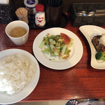 キッチンきむら - ①~⑩のお好み3品盛り合わせ(1450円)税別【平成30年10月01日撮影】