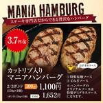 ステーキマニア - ステーキ専門店だからできる贅沢なハンバーグ!!
