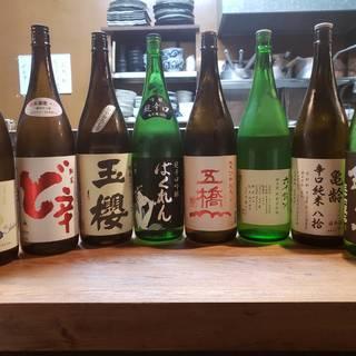 秋の日本酒冷やおろし取り揃えております!