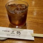 93737048 - 甕出し紹興酒(古越龍山5年) 500円