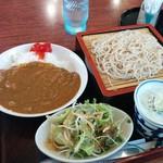 蓮雀 - 料理写真:ミニカレーライスセット(900円)