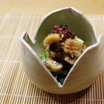 季節料理 みのり - 料理写真:鱧きゅう