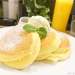 幸せのパンケーキ - 2018年6月 幸せのパンケーキ 上のバタークリームが絶品!