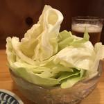 第三秋元屋 - 「キャベツみそ」120円