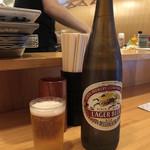 第三秋元屋 - 「キリンラガービール」580円