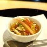 93740619 - 冬瓜と渡り蟹 鱧と生姜の葛豆腐