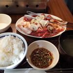 93740741 - 上焼肉ランチ 1200円(税込)