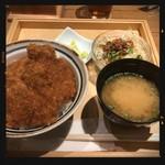 新潟カツ丼 タレカツ - ヒレかつ丼セット 920円