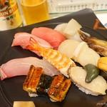 すし重 - 料理写真:2018年6月 特上にぎり【2800円】