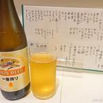 すし重 - 2018年6月 ビンビール【600円】