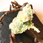 レストラン・モリエール - ホタテのフリット アップ