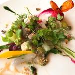 レストラン・モリエール - 温野菜 軽く混ぜました。