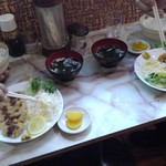 大満 - トンカツ600円(税込)ご飯とスープ付いてます