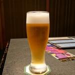だる磨 - ドリンク写真:生ビー(700円)