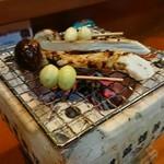 金澤おくや - 焼き松茸