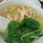 Manshinsaikan - ランチ 蒸し鶏そば