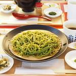 93751157 - 生麺 茶蕎麦