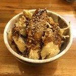 93755527 - 穴子味噌丼 ¥930                       (サラダ・赤だし付き)