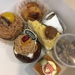 ローザンヌ - 栗のケーキ