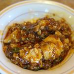 錦城 - 麻婆豆腐のお代わり